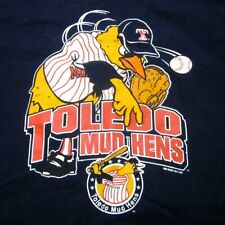 TOLEDO MUDHENS youth med Detroit Tigers minor-league tee 2004 pitcher Muddy