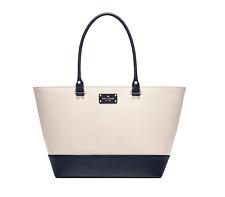 Kate Spade New York Wellesley Medium Harmony Tote Bag Shoulder Bag Pebble/Blue