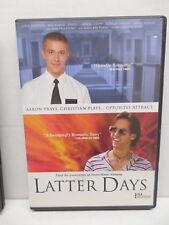 Latter Days DVD Gay Interest Movie Joseph Gordon-Levitt Jacqueline Bissett