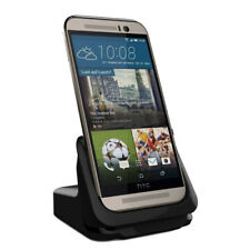 RND Dock for HTC M9 with USB port [compatible with or without a slim-fit case)