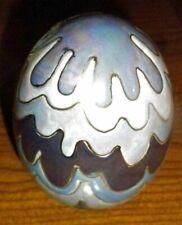 "Beautiful Ceramic Decorated Large Egg 4"""