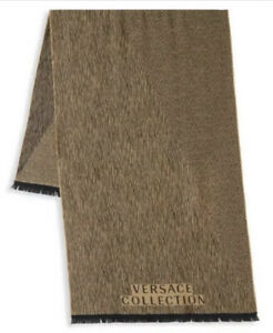 NWT Versace Collection Scarf, Beige