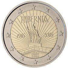 2016 Ireland 2 Euro Uncirculated Coin 1916 Easter Rising 100 Years Hibernia