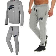 Nike Air Men's Fleece Sweatsuit S-XL Set Track Suit Bottoms Top Sweatshirt Pants