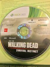 THE WALKING DEAD SURVIVAL INSTINCT OFFICIAL GAME XBOX 360 AUS PAL VGC DISC ONLY