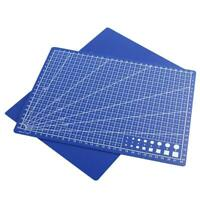 Plastic Craft Cutting Mat Blue Measuring Grid Non Slip Surface SELL A2K2