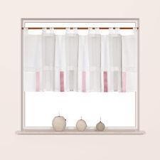 Design Scheibengardine Ösenpanneaux Kleinfenstergardine 45x150cm Panneaux 2276