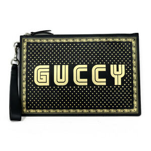 GUCCI Clutch bag black from japan