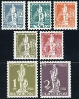 BERLIN 1949, MiNr. 35-41, postfrischer Kabinettsatz, Attest Schlegel, Mi. 750,-