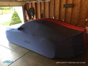 Premium Indoor Satin Stretch Tailored Car Cover for Ford Mustang Shelby GT350
