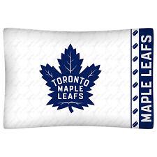 NEW Toronto Maple Leafs NHL Standard Microfiber Knit Pillowcase