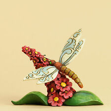 Jim Shore Heartwood Creek Mini Miniature Dragonfly Animal Figurine 4031230 New