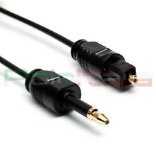 Cavo 2m audio da TOSLINK a mini plug Jack 3,5mm ottico digitale optical cable tv