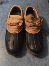 Vintage LLBean Womens Low Boot Moc Duck Maine Size 7