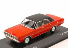 Dodge Charger R/t 1975 Red W/ Black Roof 1 43 Model Wb148 Whitebox
