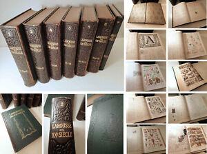 LAROUSSE du XXe SIÈCLE - 6+1 Volumes 1928/45 (7e = sup. 1953) - Auteur Paul Augé