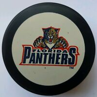 FLORIDA PANTHERS NHL VINTAGE INGLASCO NHL HOCKEY PUCK MADE IN CSFR