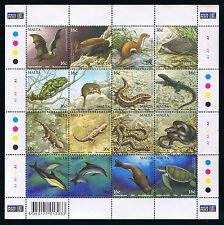Malta Mammals / Sealife Postage Stamp Sheetlet