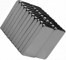 20 Neodymium Magnets 1/2 x 1/4 x 1/16 inch Block N48