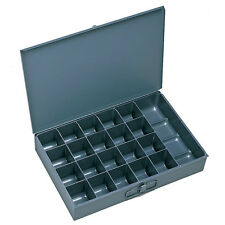 4 Large Metal 21 Compartment / Hole Storage tray's for Nuts, Bolts & Washers 109