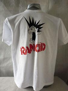 RANCID LOGO MEN'S PUNK HEAVY T-SHIRT