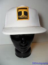 Vintage TNEMEC Industrial Coatings Cement Advertising SNAPBACK TRUCKER HAT CAP