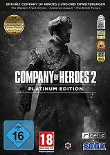 Company Of Heroes 2 - Platinum Edition (PC, 2016, DVD-Box)