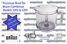 Braun Food Processor Bowl - 7051144 67051144 BR67051144 7322010204  - 3202, 3205