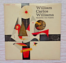William Carlos Williams Reads His Poems lp, 1958,VERY RARE,NO HOLE MARKS,EXC. C!
