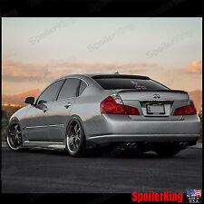 Infiniti M (Y50) SpoilerKing Rear Roof Spoiler & Trunk Wing Combo (301R/380L)