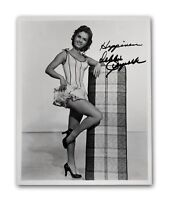 Debbie Reynolds Signed 8x10 Photo JSA COA Autograph Singin In The Rain Carrie