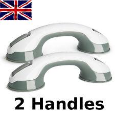2 x Sicurezza Bagno Ventosa Grip supporto corrimano Maniglia per bagno doccia WC