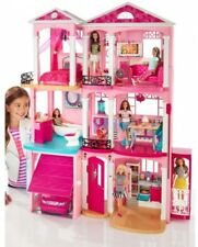 Barbie DreamHouse Playset With 70+ Accessory Pieces Toy Kids Gift Best Play Doll