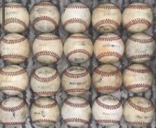 Lot of 20 Used Baseballs Good Quality Leather Little League NFHS