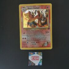 More details for blaine's charizard 2/132 rare holo gym challenge 2000 wotc heavy play