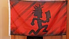 3' X 5' JUGGALO ICP polyester flag w/ grommets. Banner Insane Clown Posse