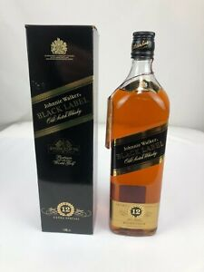 36) JOHNNIE WALKER Black Label 12 YEARS EXTRA SPECIAL  1,00L / 43,0% Vol. Alc.
