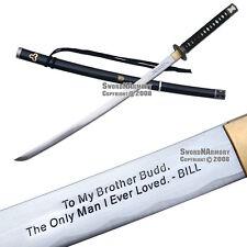 Musashi Brand Handmade Kill Bill Budd's Samurai Katana Sword Sharp Blade