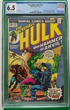 INCREDIBLE HULK #182 CGC 6.5 O/W to W Pages Hammer & Anvil 1st Appearance
