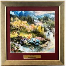 "Disney Thomas Kinkade ""Bambi's First Year"" Custom Framed Art"