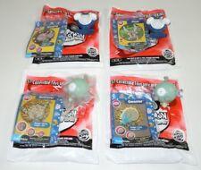 Poliwrath Magnemite Pokemon Burger King Toy LOT 4 Nintendo Trading Cards Figures
