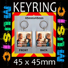 The Heavy Entertainment Show Robbie Williams -KEYRING -45X45mm KEYCHAIN CD40S