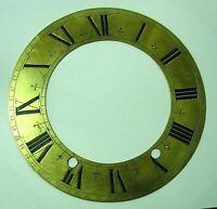 Cadran cercle laiton uhr horloge pendule boulangere cartel clock no comtoise n18