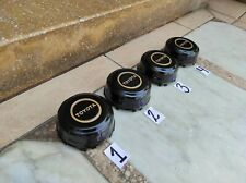 NOS Toyota 4 Runner T100 Land Cruiser Wheels Center Hub Caps Yellow Pickup Truck