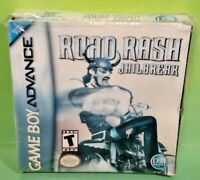 Road Rash: Jailbreak - Nintendo Game Boy Advance GBA Complete SP Racing