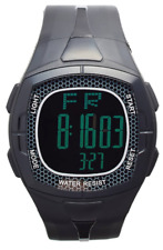 Captain Boys Black Titanium Water Resistant Digital Watch 0277