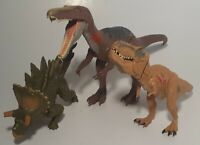 Jurassic World Lot Of 3 Dinosaur Action Figures 2015-2017