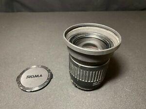 Sigma Zoom 28-200mm f3.8-5.6 Zoom Camera Lens