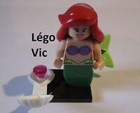 Légo 71012 Minifig Figurine Série Disney Ariel + Socle + fiche