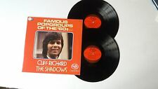 Cliff Richard / Shadows - Famous Groups of the 60s - German Import Double LP
